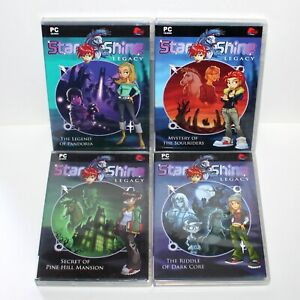 Lot 4 PC Game STARSHINE Legacy 2005 Pine Hill Mansion Soulriders Pandora Core