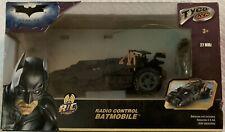 Batman The Dark Knight Radio Control Batmobile.  2008.  Never Opened In Box.