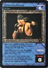 WWE Raw Deal CCG Velocity 8.0 Defensive Stance