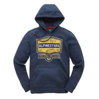 Alpinestars Men's Casual Long Sleeved Hoody Diner Navy medium