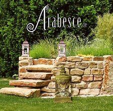 0,5 M ² Trockenmauersteine Natural Stone Buntsandstein Sandstone Ruins