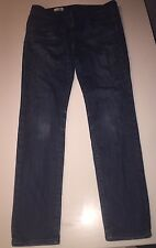 Gap Always Dark blue denim Skinny Slim jeans 28 6 R Crystal Wash