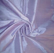 "HANDLOOM 100% SILK DUPION 54"" wide IRIS BY HALF MT"