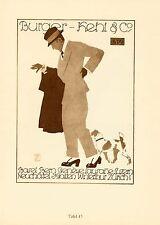 1926 Hohlwein 43/44 Burger-Kehl/Reiter 20x28 cm Doppelseite orig. Kunstdruck