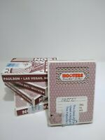 Lot of 5 Vintage Decks of Hooters Casino Hotel LasVegas Playing Cards Used