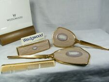 "A "" Wedgwood Jasper Ware "" Dressing Table Set, in Lilac & extremely Rare Superb."