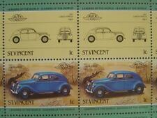 1937 LANCIA APRILIA Car 50-Stamp Sheet / Auto 100 Leaders of the World