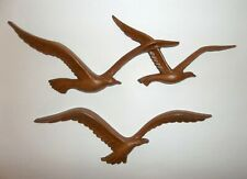 2 Home Interior Seagull Wall Plaques Birds in Flight Homco