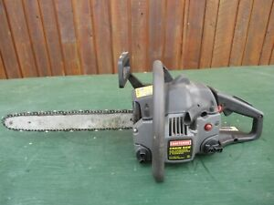 """Vintage CRAFTSMAN Chainsaw Chain Saw with 15"""" Bar"""