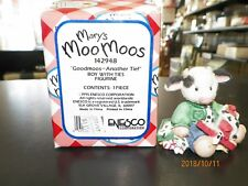 """Mary Moo Moos #142948 """"Goodmoos-Another Tie!"""" Boy With Ties"""