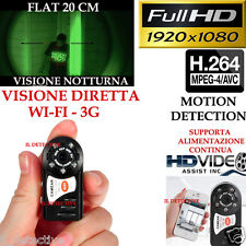 Spy Camera Spia WIFI HD MD80 TELECAMERA MICRO NASCOSTA MICROCAMERA 1