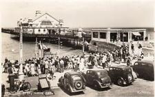 The Pier Herne Bay Motor Car unused RP pc  Valentines Ref A210
