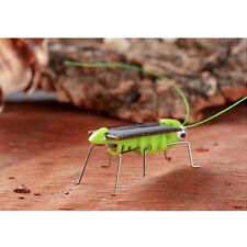 Child Kid's Toy Solar Power Robot Insect Locust Grasshopper Science Toy Mini CA