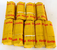9 Rolls Kodak Professional E100S Ektachrome 120 Color Slide Film Expired 06/2001