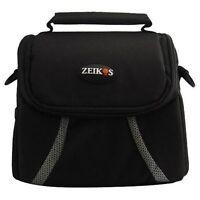 Zeikos Compact Deluxe Gadget Bag for Cameras/Camcorders