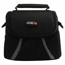 Zeikos Compact Deluxe Gadget Bag for Cameras/Camcorders
