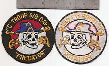 "#179  US ARMY C TROOP 5-9 CAVALRY PATCH ""PREDATOR"""