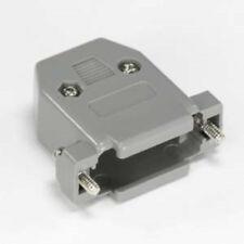 D-Sub DB15pin/DA15 cable/cord/wire Plastic Hood/Cover/Housing/Shell+screws$SHdis