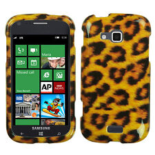 For Verizon Samsung ATIV Odyssey HARD Case Snap On Phone Cover Leopard