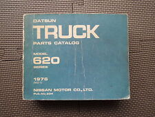 JDM NISSAN DATSUN TRUCK 620 Series Original Genuine Parts List Catalog