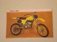 RITAGLIO DI GIORNALE 1981 MOTO VALENTI CR 125