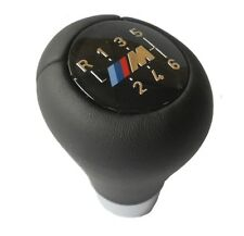 BMW E46 E39 E60 Schaltknauf Short Shifter Leder M Emblem 6 Gang