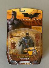New Batman Begins Movie Batman Power Punch Action Figure 2005 Mattel Free Ship