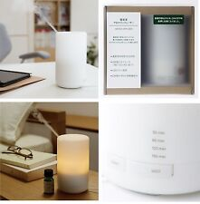 MUJI JAPAN Aroma Diffuser ultrasonic waves with LED light 11SS f/s