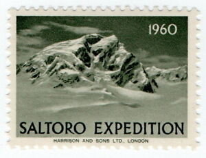 (I.B) Pakistan Cinderella : Saltoro Mountain Expedition 1960 (Harrison & Sons)
