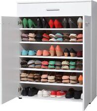 Schuhschrank Schuhkommode Dielenschrank 3675 weiß  89 x 120 x 37