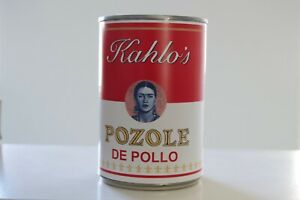 """Frida Kahlo's Campbell's Soup Can """"Pozole"""" limited edition Signed by artist"""