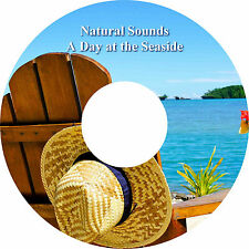 Natural Sounds A Day at the Seaside CD Relaxation Stress Relief Sleep Aid