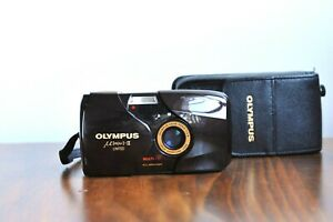 OLYMPUS MJU II Limited *Ultra Rare BURGUNDY* No. 900,  Compact Point and Shoot