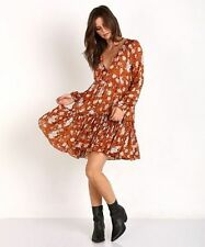 Viscose All Seasons Floral Dresses for Women