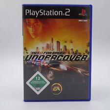 Need for Speed Undercover Sony Playstation 2 PS2 PAL Spiel Game Vollgas