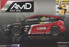 Dave Newsham Hand Signed Touring Cars Promo Card 1.