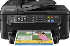 EPSON All-n-One Color Printer Scanner Copier Fax-Wireless Wifi Mobile-DUPLEX-ADF