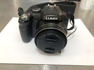 Panasonic LUMIX DMC-FZ200 12.1 MP Digital Camera - Black Screen Scuffs