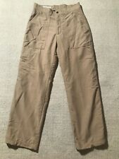 Orvis Men's Cargo Nylon Pants With Lining Size 30 #E8