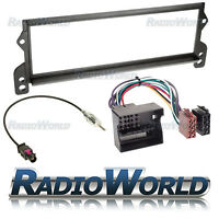 BMW Mini One / Cooper Radio Full Fitting Flat Pin Facia Kit + ISO Lead FP-06-05