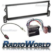 BMW Mini One / Cooper Radio Full Fitting Flat Pin Facia Kit + ISO Lead FP-06-05