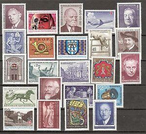 Österreich 1973 Kompletter Jahrgang Postfrisch ** MNH