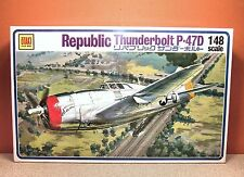 1/48 OTAKI REPUBLIC THUNDERBOLT P-47D MODEL KIT # 0T2-28-400