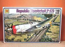 1/48 OTAKI REPUBLIC THUNDERBOLT P-47D MODEL KIT