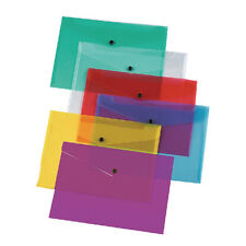 Q-Connect KF03599 Assorted A4 Document Folders Pack of 12