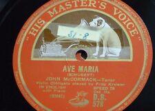 "78rpm 12"" John McCormack Ave Maria/Angel'S SERENADE DB 578"