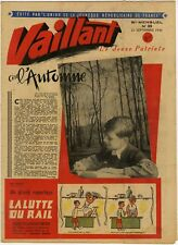 RARE VAILLANT 39 (le journal le plus captivant) du 21/09/1945 TBE
