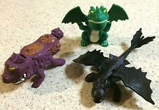 HOW TO TRAIN YOUR DRAGON .. ODD LOT - MOVIE TOYS
