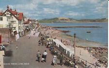 PC32444 Marine Parade. Lyme Regis. Salmon. Cameracolour. No 1842c