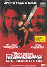 DVD Texas Chainsaw Massacre : Die Rückkehr 4. Teil Horror Renee Zellweger